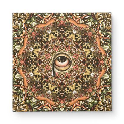 Mandala 1 Square Canvas