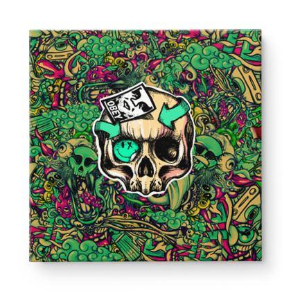 Skull Square Canvas