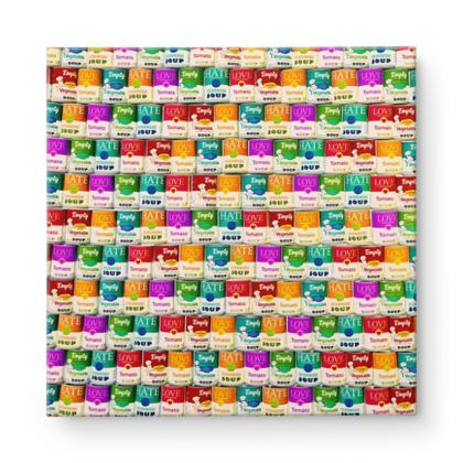 Love soop Square Canvas