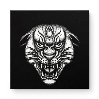 Panther Square Canvas