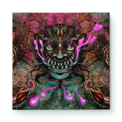 Demon Square Canvas