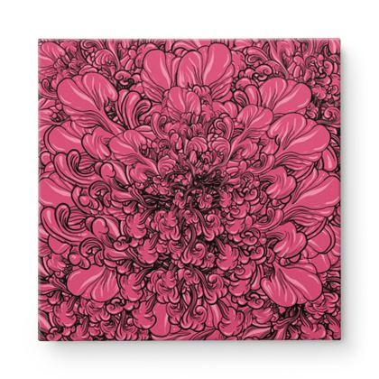 Flowers Square Canvas