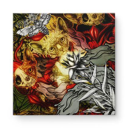 Mix 4 Square Canvas