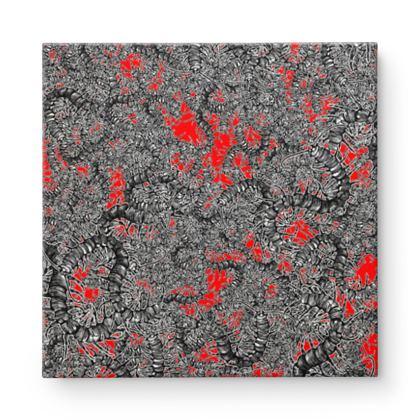Centipede Square Canvas