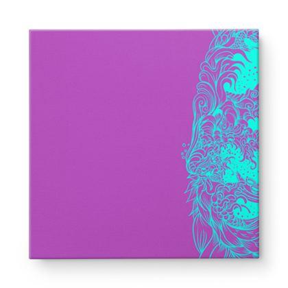 wave Square Canvas