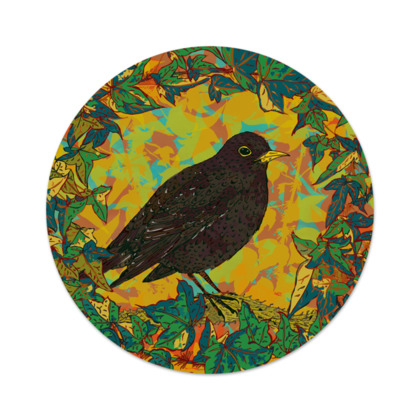Blackbird and Ivy Serving Platter