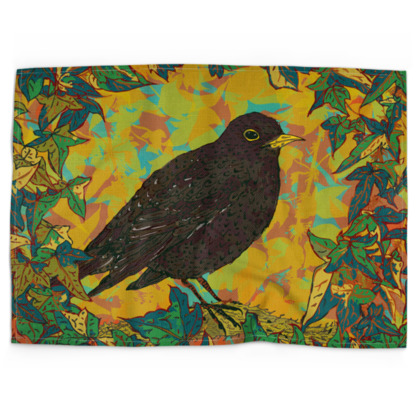 Blackbird and Ivy Tea Towels