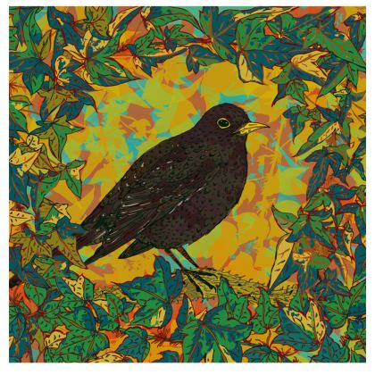 Blackbird and Ivy Fabric Placemat