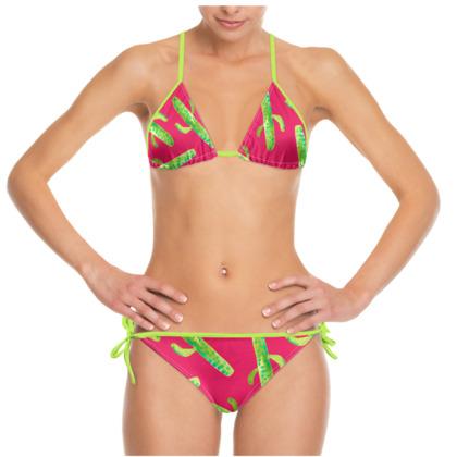 Hot Mess Of Cacti Bikini