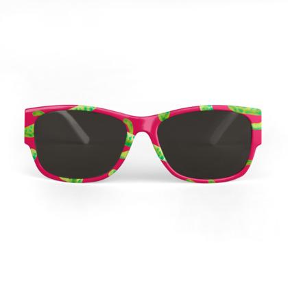 Hot Mess Of Cacti Sunglasses