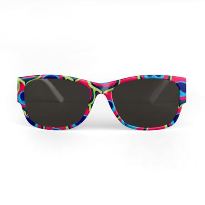 Retro Peacock Sunglasses
