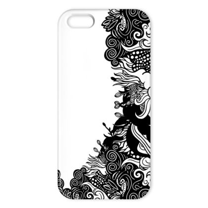 Floral White IPhone Case