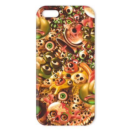 Monster World Orange IPhone Case