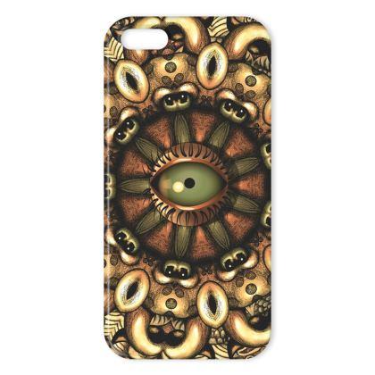 mandala look IPhone Case