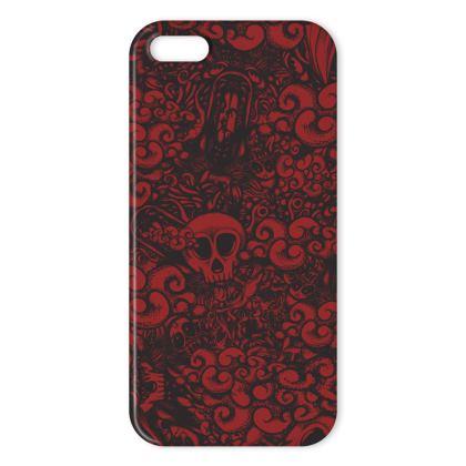Doodles Dark IPhone Case