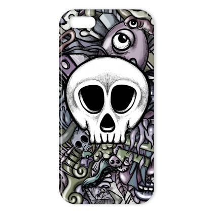 White Skull IPhone Case