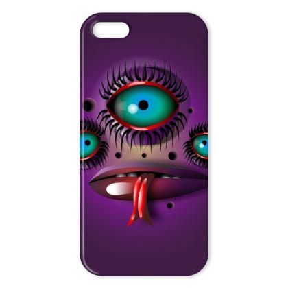 Purple Monster IPhone Case
