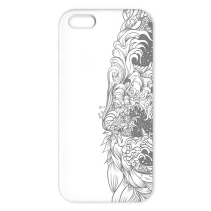 white wave IPhone Case