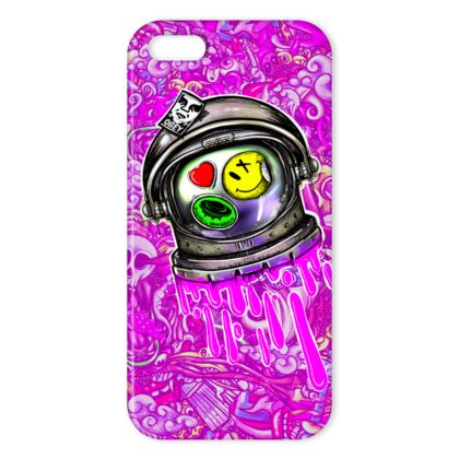 Space Doodles IPhone Case