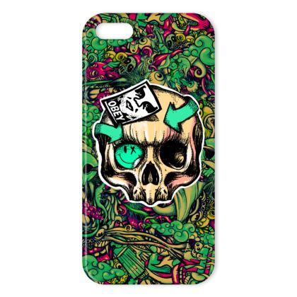 Skull Stickers IPhone Case