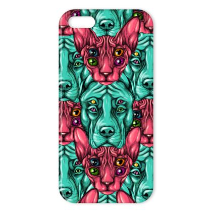 Cats and Dogs IPhone Case
