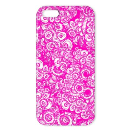 Pink Tentacles IPhone Case
