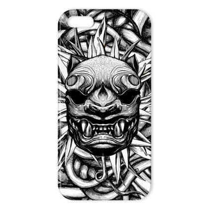 Tiger BW IPhone Case
