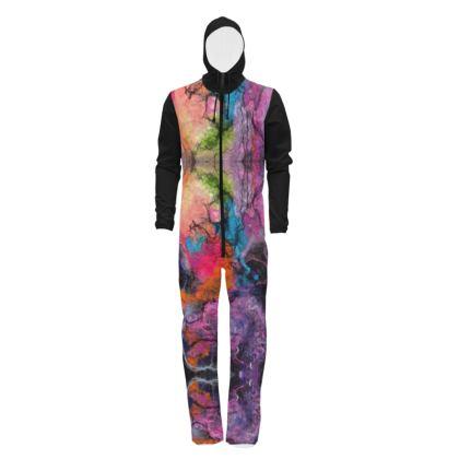 Bright Wool Nebula Abstract Design Hazmat Suit