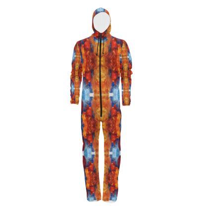 Sunshine Mandala Designer Hazmat Suit