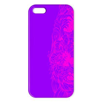 Wave Purple IPhone Case