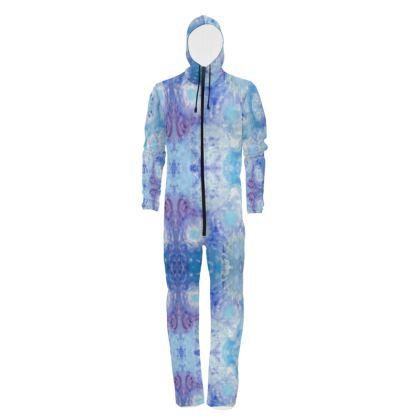 Sky Flowers Design Hazmat Suit