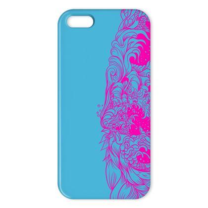 Wave Blue IPhone Case