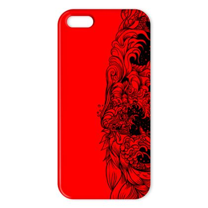 Wave Red IPhone Case