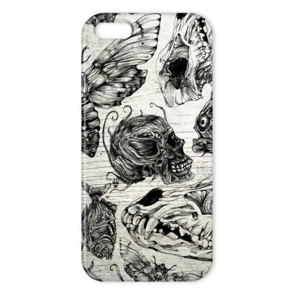 Bones and co BW IPhone Case