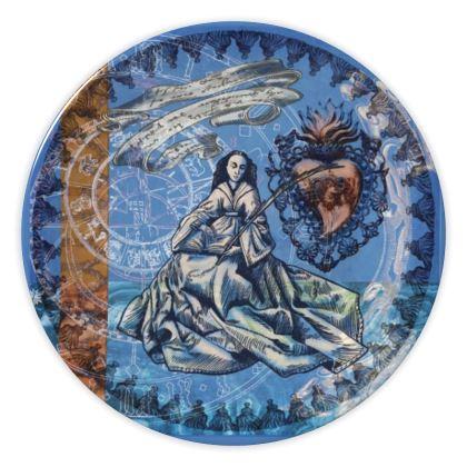 St. Barbara - China Plates