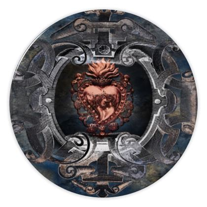 Sacred Heart - China Plates