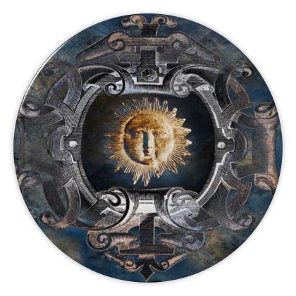 Baroque Sun - China Plates