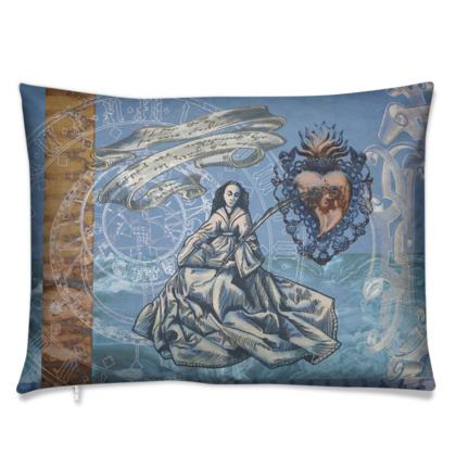 St. Barbara - Rectangle Cushion Covers
