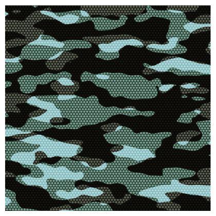 Navy Blue Camo Swim Shorts