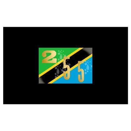 TZ (TANZANIA) 4 Pack design face masks
