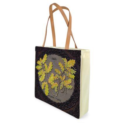 Tree Calendar Oak Shopper Bag