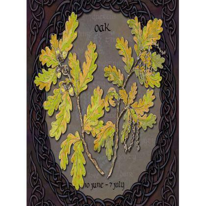 Tree Calendar Oak Tray