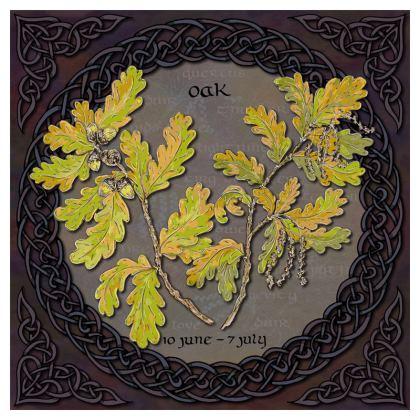 Tree Calendar Oak Coasters