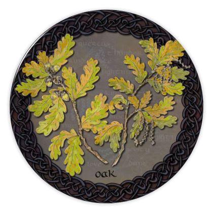 Celtic Oak China Plate