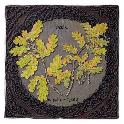 Tree Calendar Oak Throw