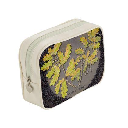 Tree Calendar Oak Make-Up Bag