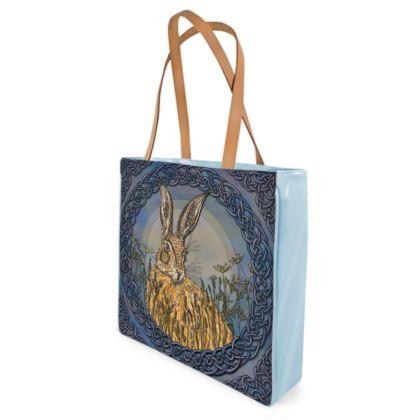 Celtic Hare Shopper Bag