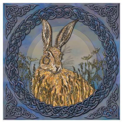 Celtic Hare Coaster Set