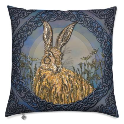 Celtic Hare Cushion