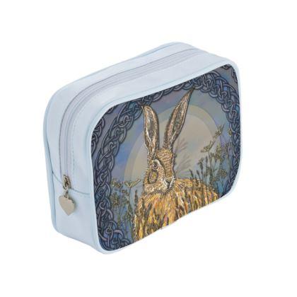 Celtic Hare Make-Up Bag